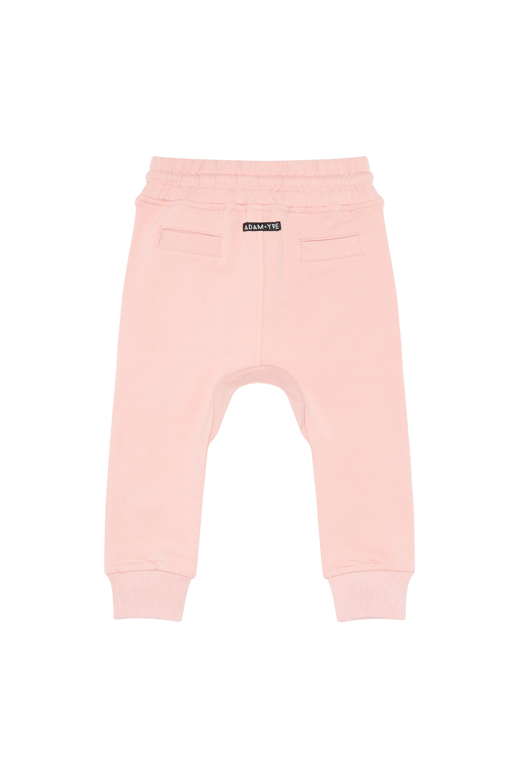 Dusty Pink Track Joggers