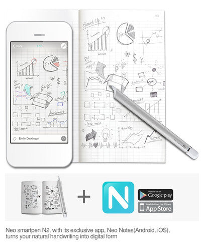 Capture notes, drawings, and sync with audio