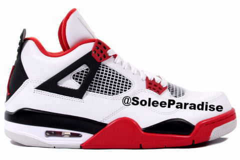 Jordan 4 Fire Red GS
