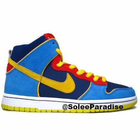 the latest 9bbe5 aa11c Nike Dunk High Pro SB MR Pacman
