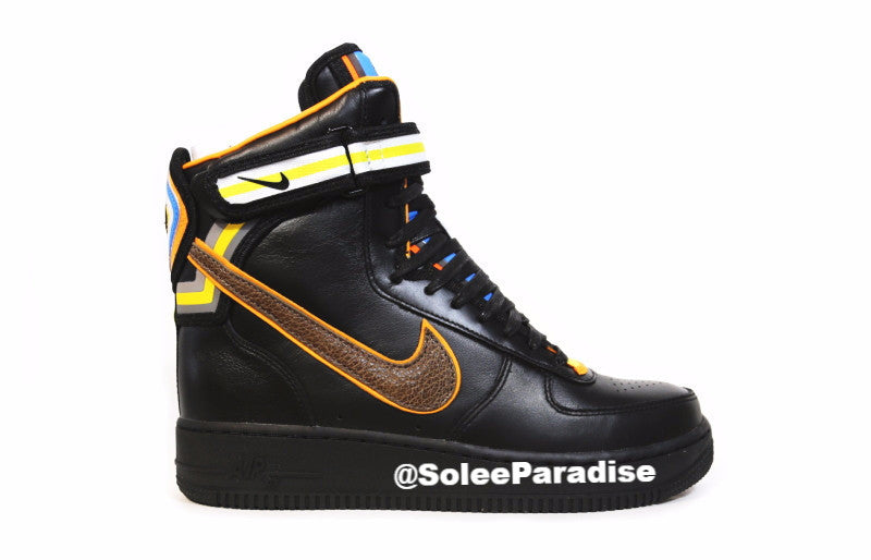 grande vente 6375a 0bca3 Nike Air Force One Riccardo Tisci High Black