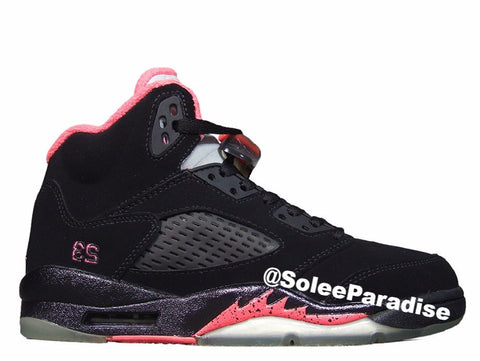 Jordan 5 Black Alarming GS