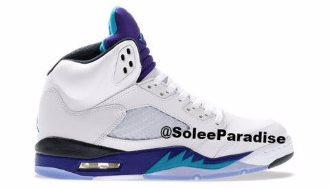Jordan 5 White Grape GS