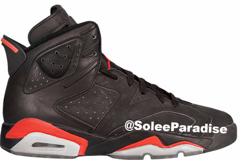 "Jordan 6 Black Infrared OG ""From Infrared Pack"""