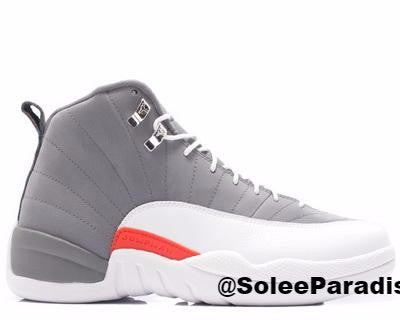 Jordan 12 Cool Grey GS