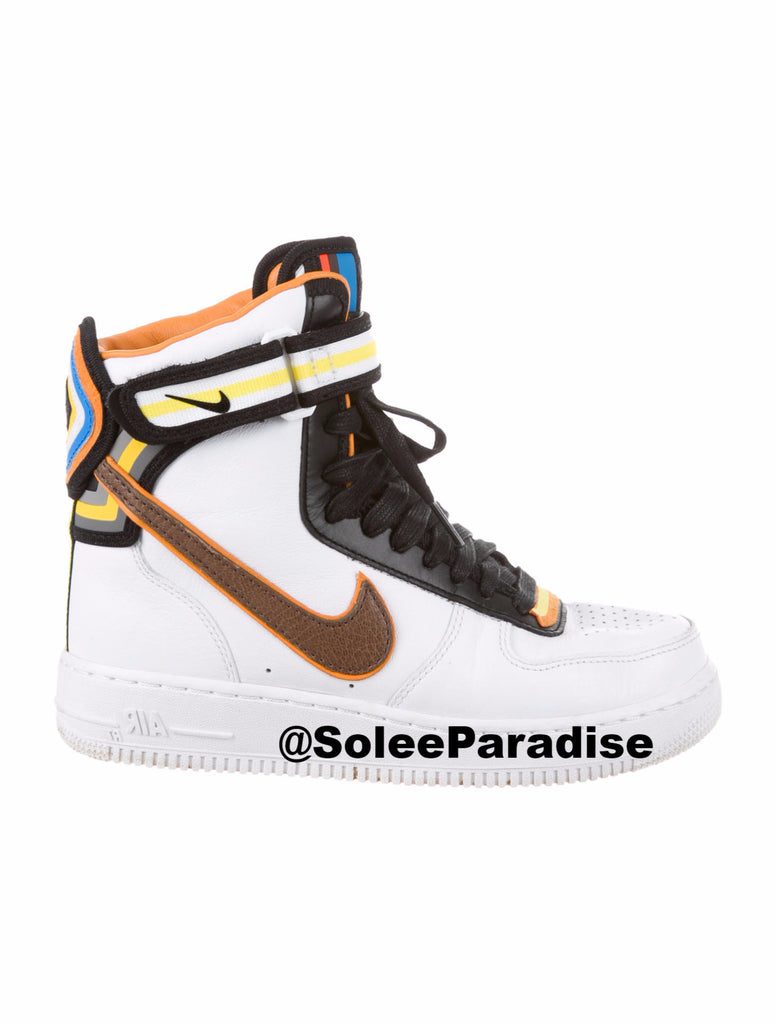 à bas prix 53447 9645f Nike Air Force One Riccardo Tisci High White