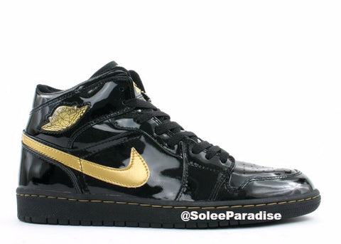 Jordan 1 Black Metallic Gold