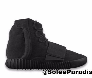Yeezy Adidas Boost Black