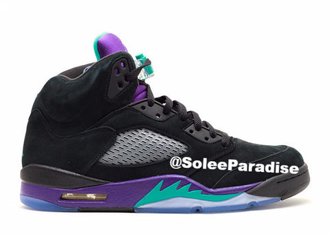 Jordan 5 Black Grape GS