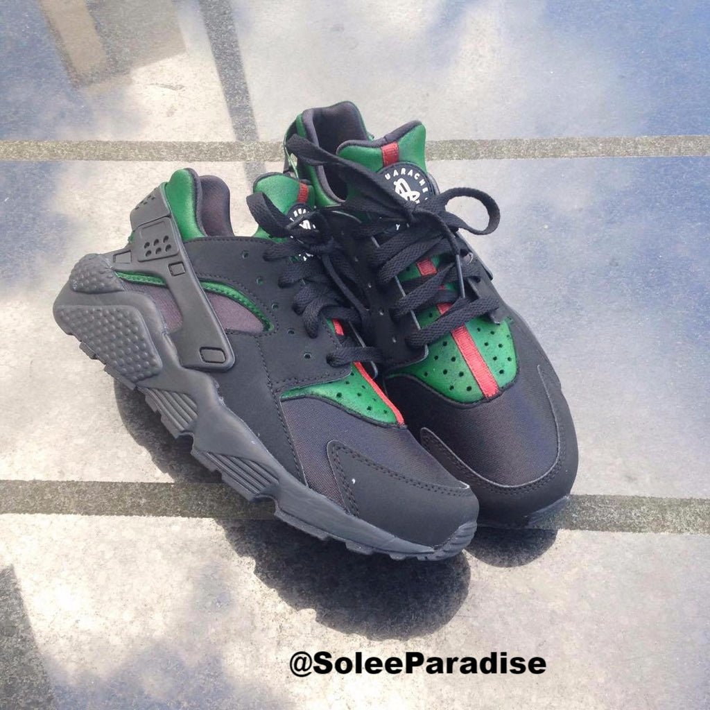 best loved ccdc5 0808c Nike Air Huarache Black X Gucci – SoleParadise