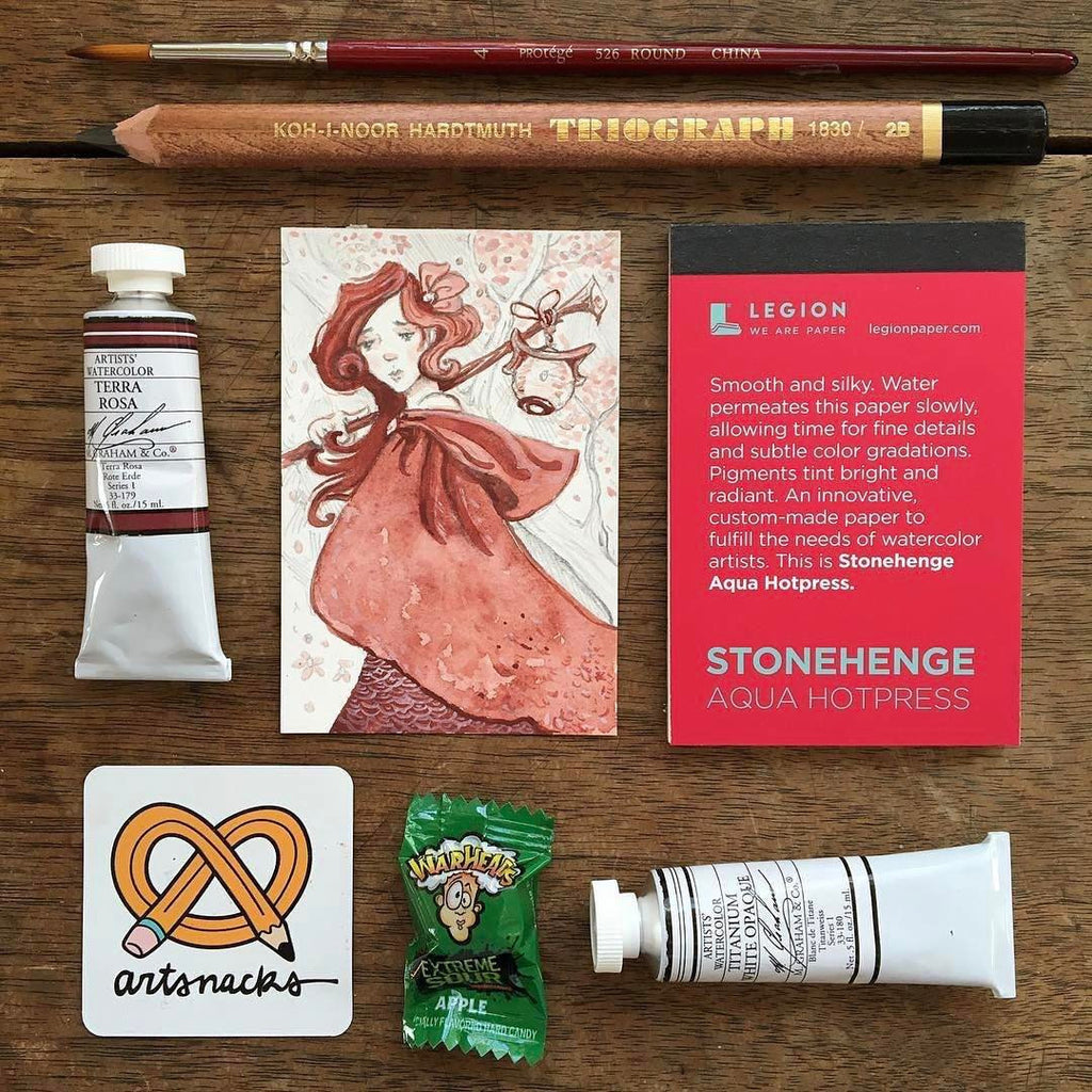 March 2017 ArtSnacks