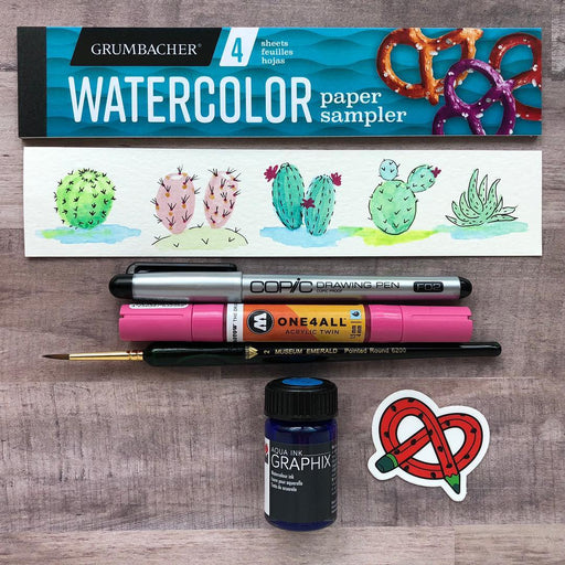 July 2018 ArtSnacks - ArtSnacks
