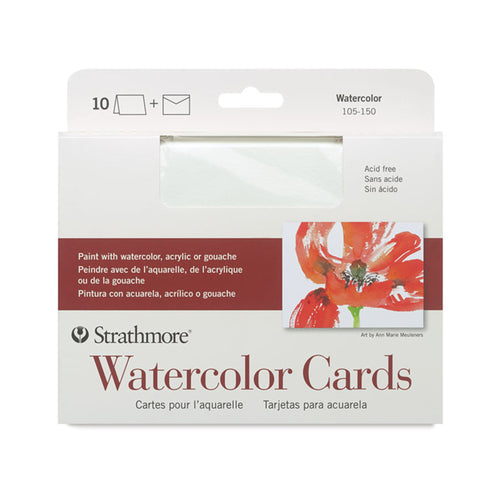 Strathmore Watercolor Cards (10 Pack)
