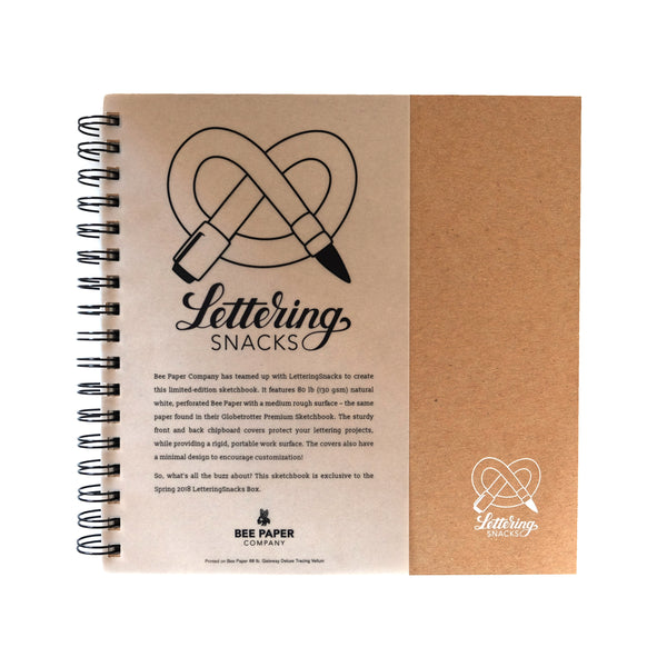 Limited Edition Bee Paper x LetteringSnacks Sketchbook - ArtSnacks
