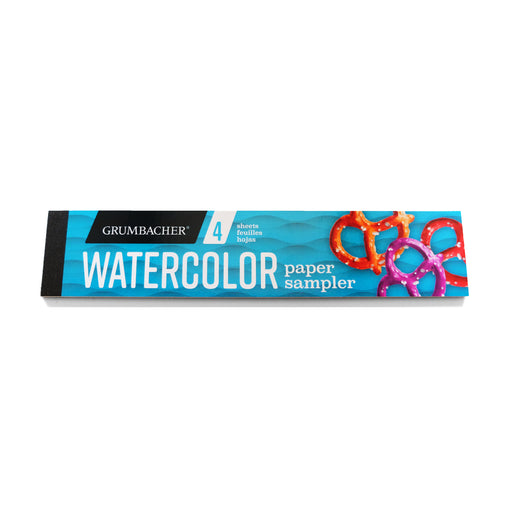 Grumbacher Watercolor Paper Sampler - ArtSnacks