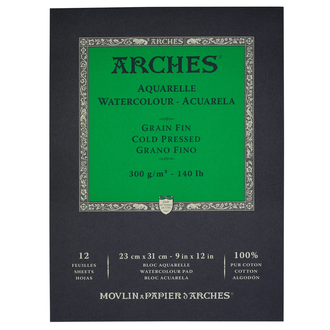 Arches Cold Press Watercolor Pad - ArtSnacks