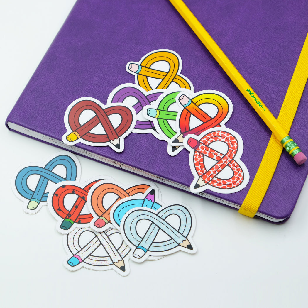 ArtSnacks Stickers, 12 Pack - ArtSnacks