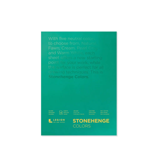 Stonehenge Colors Paper Pad by Legion Paper - ArtSnacks