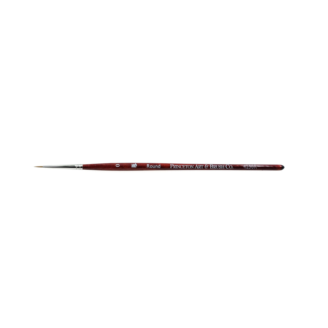 Princeton Synthetic Sable Round Brush - ArtSnacks