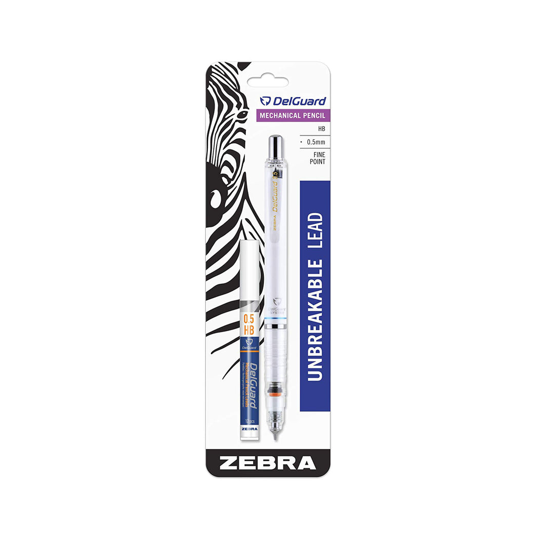 Zebra DelGuard Mechanical Pencil, 0.5mm - ArtSnacks