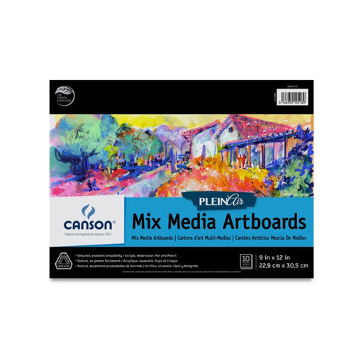 Canson Plein Air Mixed Media Artboards - ArtSnacks