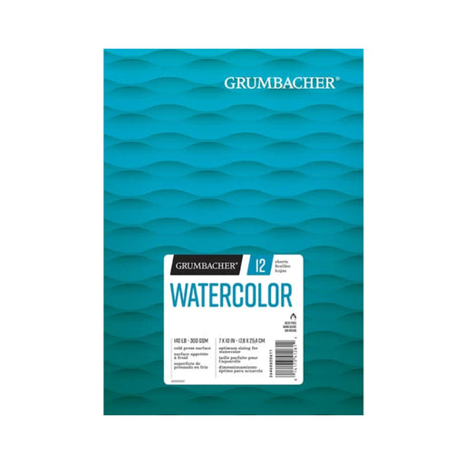 Grumbacher Cold Press Watercolor Paper Pad - ArtSnacks