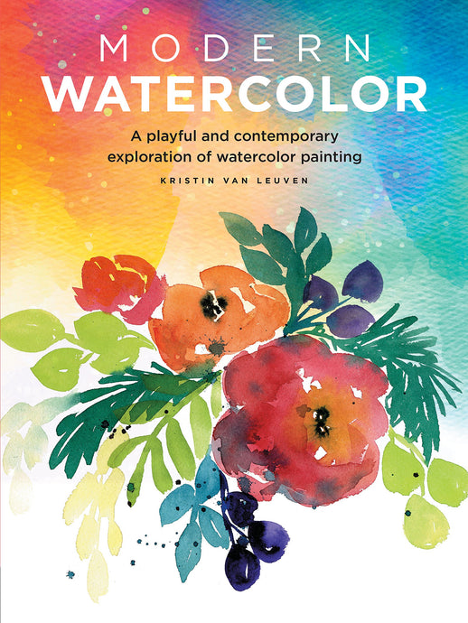Modern WaterColor A playful and contemporary exploration of watercolor painting (Modern Series) - ArtSnacks