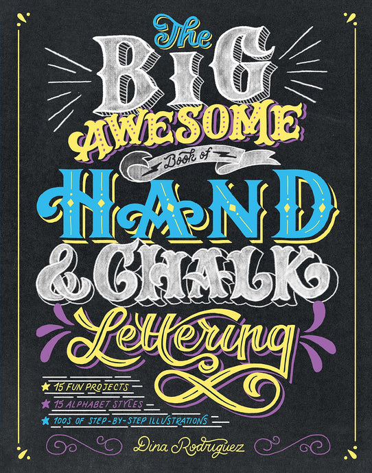 The Big Awesome Book of Hand & Chalk Lettering - ArtSnacks