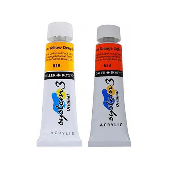 Daler-Rowney System 3 Medium Body Acrylic Paint - ArtSnacks