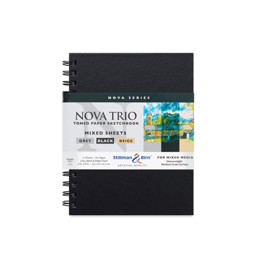 Stillman & Birn Nova Trio Mixed Media Sketchbook - ArtSnacks
