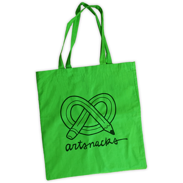 ArtSnacks Travel Tote Bag - ArtSnacks