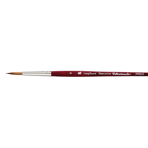 Princeton Velvetouch Long Round Brush - ArtSnacks