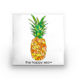 The Happy Sea - Pineapple Buttons