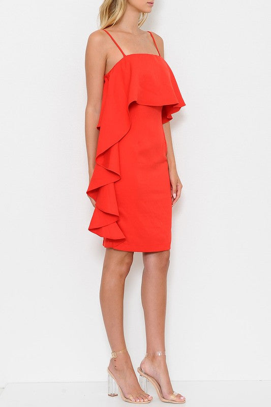 Vivi Dress - Red