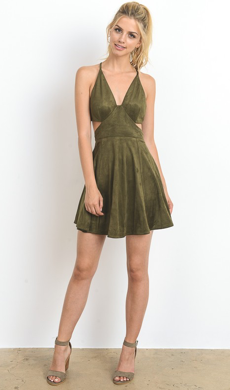 Olivia Cut-Out Dress