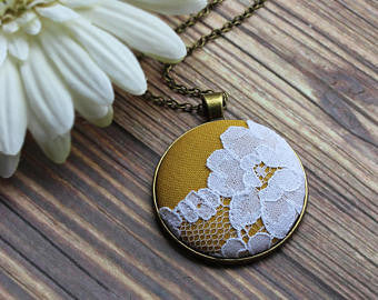 Boho Lace Necklace