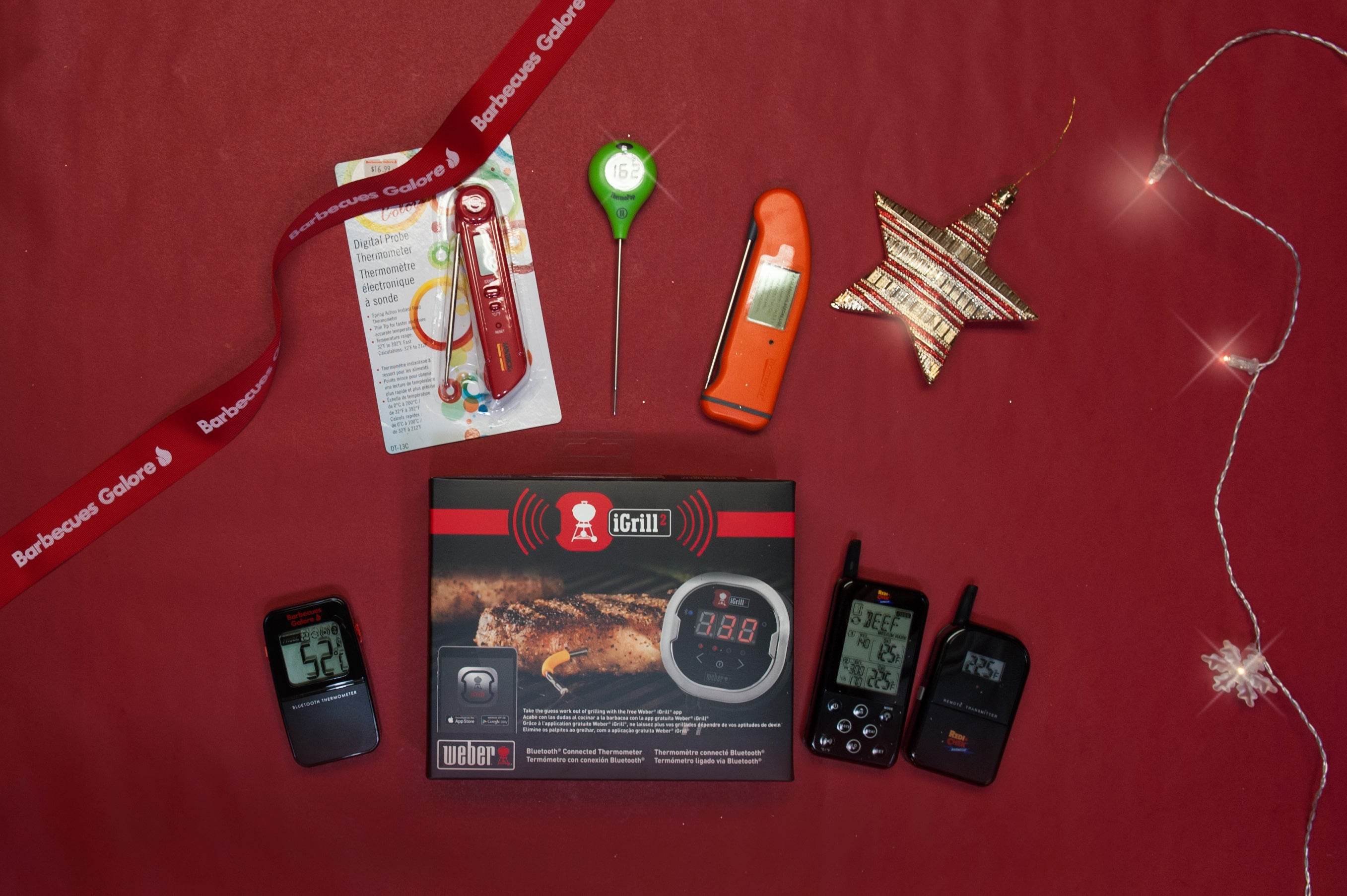 Barbecues Galore Gift Guide - Thermometers Galore