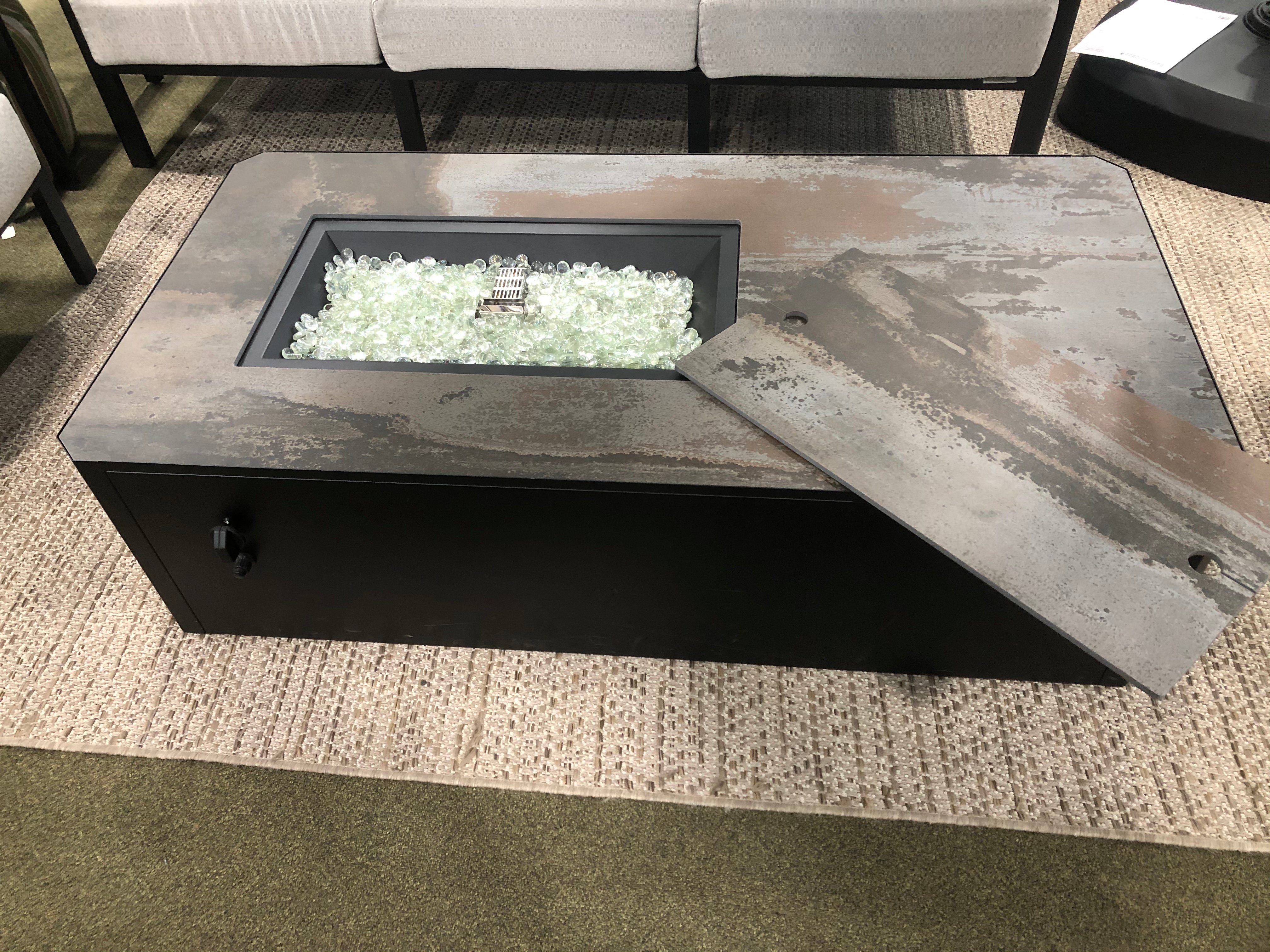 Outdoor Greatroom Kinney Fire Table at Barbecues Galore in Burlington, Ontario