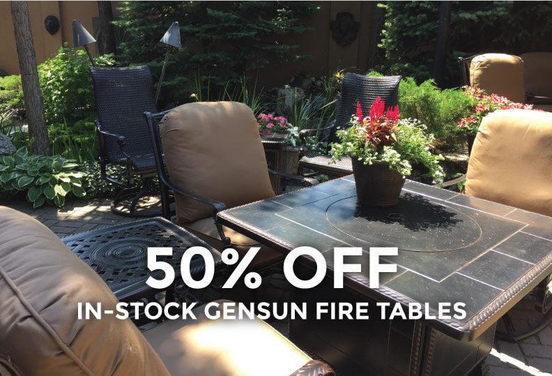 Barbecues Galore Birthday Sale - 50% off Gensun Firetables