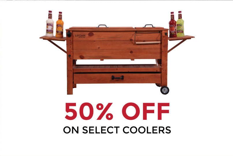 Barbecues Galore Birthday Sale - 50% off select in stock coolers