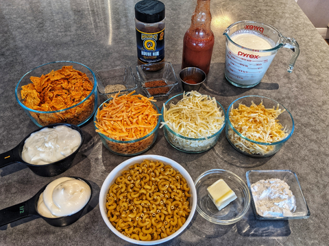 smoked mac and cheese recipe barbecues galore blog