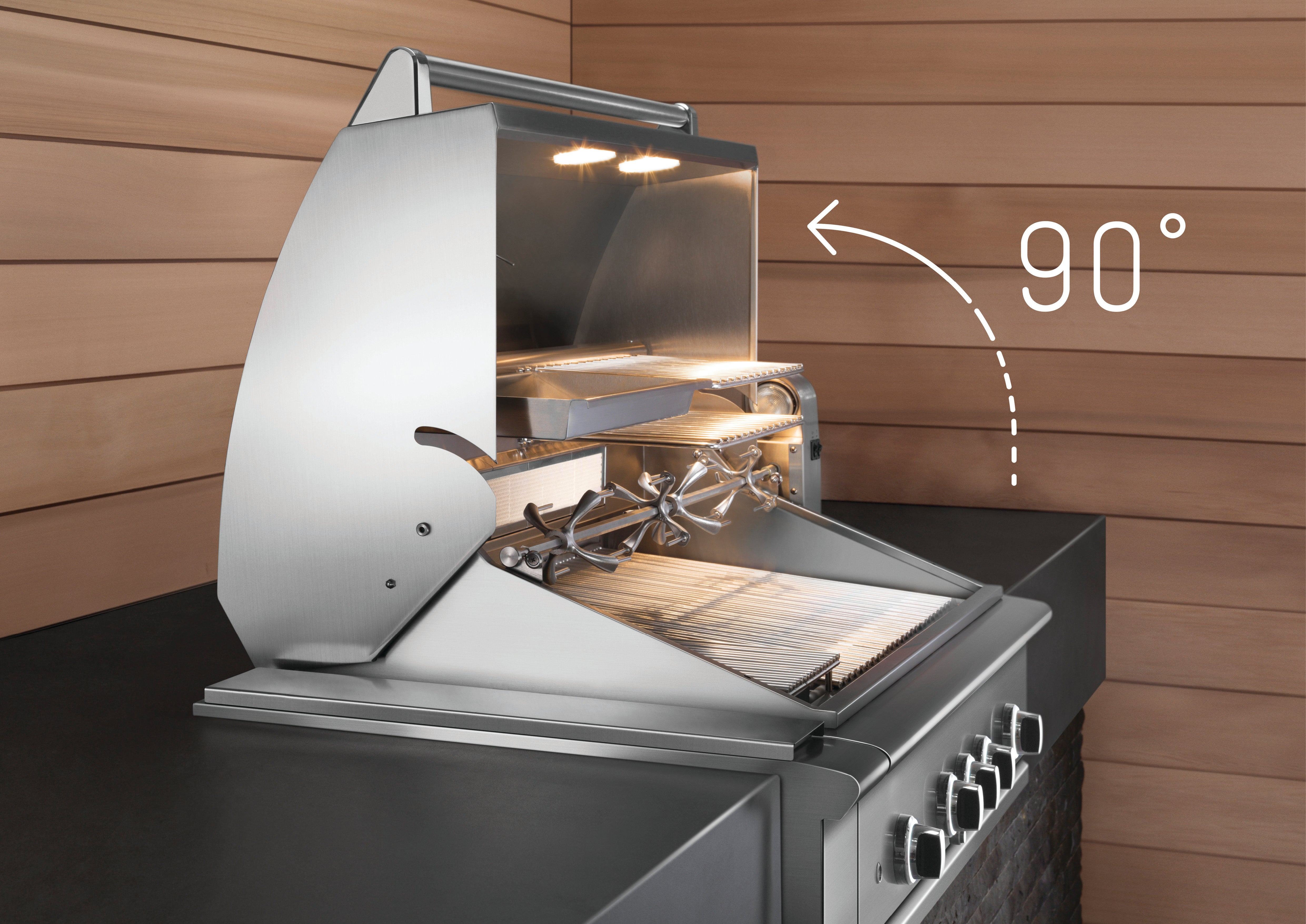 DCS Appliances Built In Barbecue Outdoor Kitchen