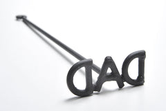 Three Letter Branding Iron - DAD