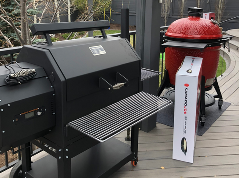 charcoal vs pellet grill, barbecues galore