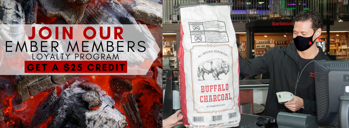 Charcoal and Pellet Loyalty Program at Barbecues Galore
