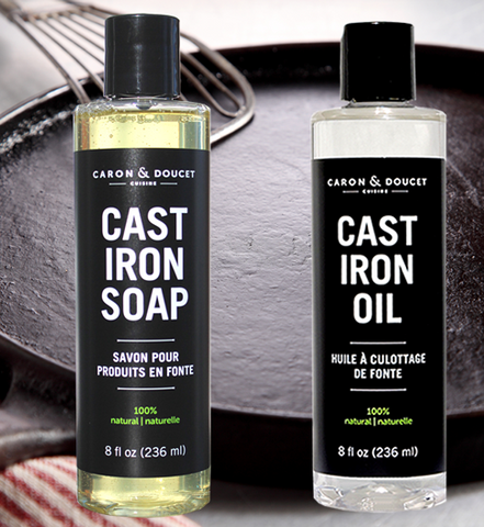 Cast Iron Soap and Oil