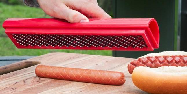 Slot Dog Hot Dog Prep Tool