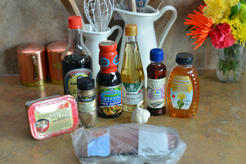 Ingredients for Char Sui Chinese Barbecue Pork
