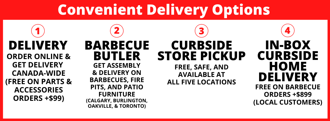 Convenient Delivery and Curbside Pickup Options at Barbecues Galore
