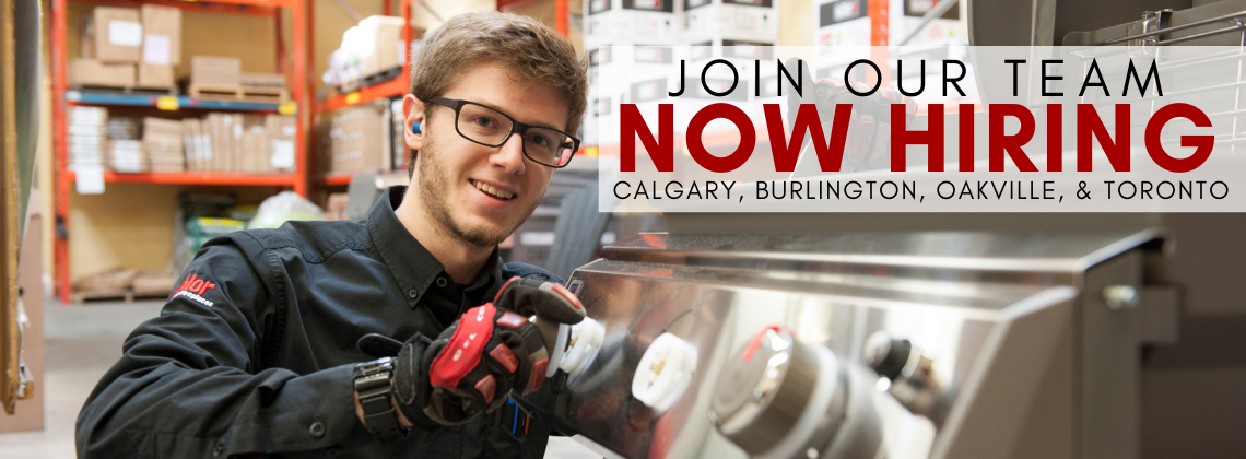 Barbecues Galore is now hiring in Calgary, Burlington, Oakville, and Toronto